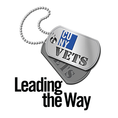 dogtag graphic for CUNY Veterans Affairs