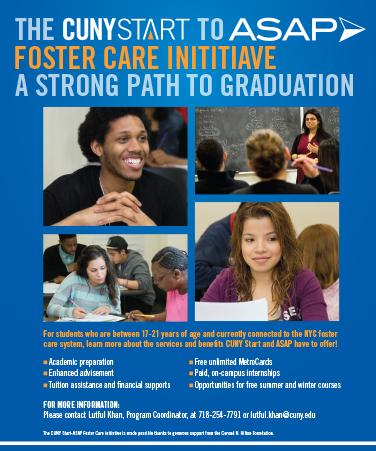 CUNY Start Foster Care Initiative cover