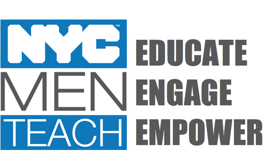 NYC Men Teach logo image
