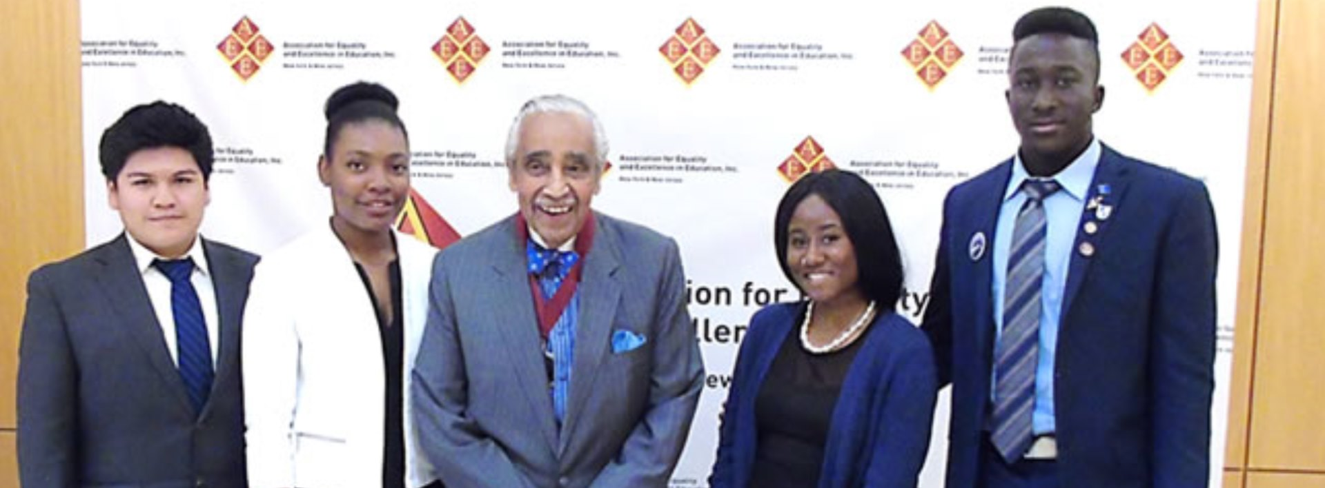 Honorable Charles Rangel, retired US Representative and SEEk founder banner