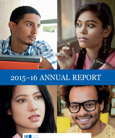 SEEK 2015-16 Annual Report cover