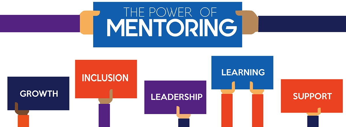 The Power of Mentoring graphic