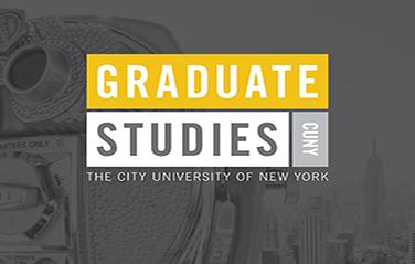 CUNY Graduate Studies brochure cover