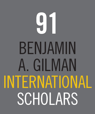91 BENJAMIN A. GILMAN INTERNATIONAL SCHOLARS logo