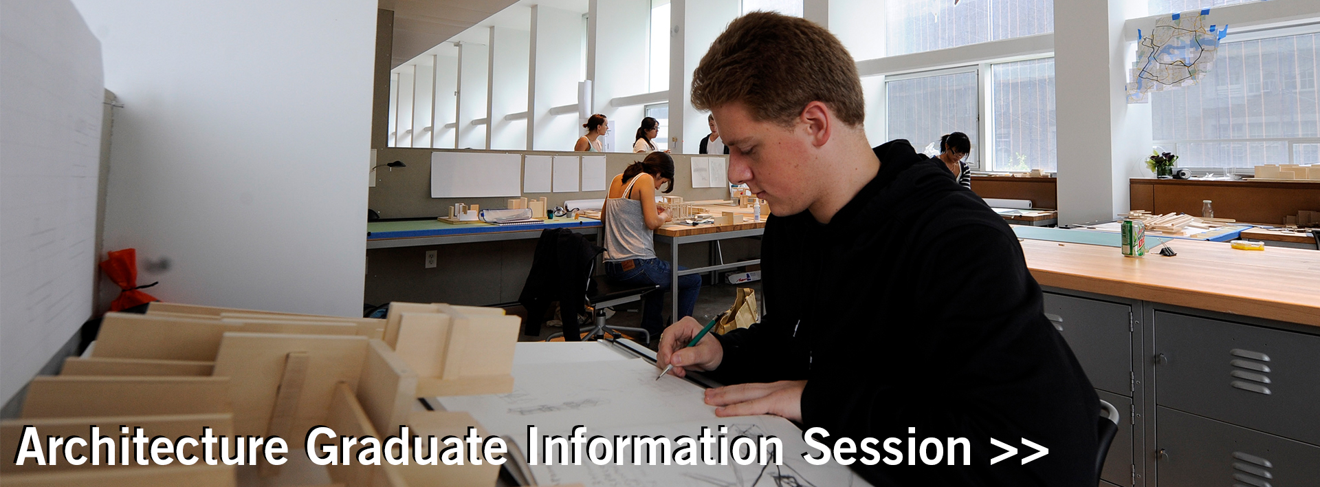 Spitzer School of Architecture Graduate Information Session banner