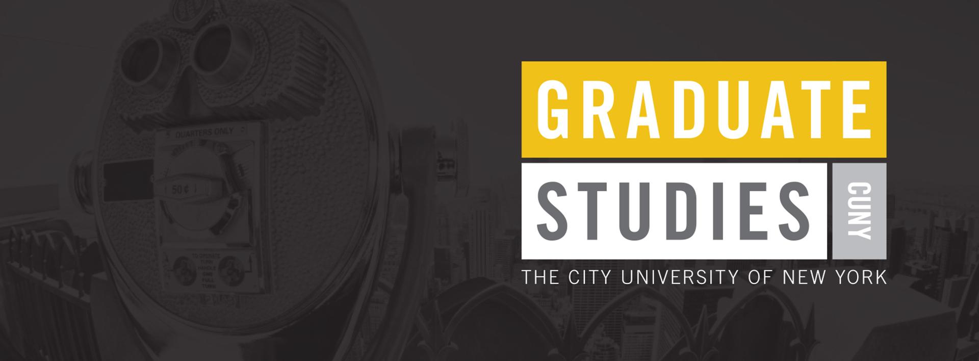 CUNY GRADUATE STUDIES banner