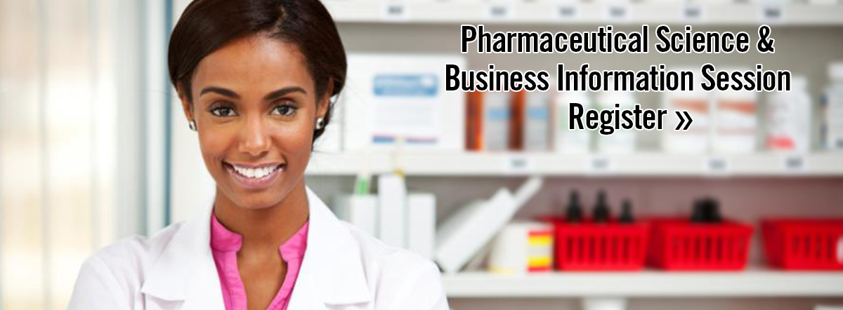 Pharmaceutical Science & Business Inforamtion Session Register