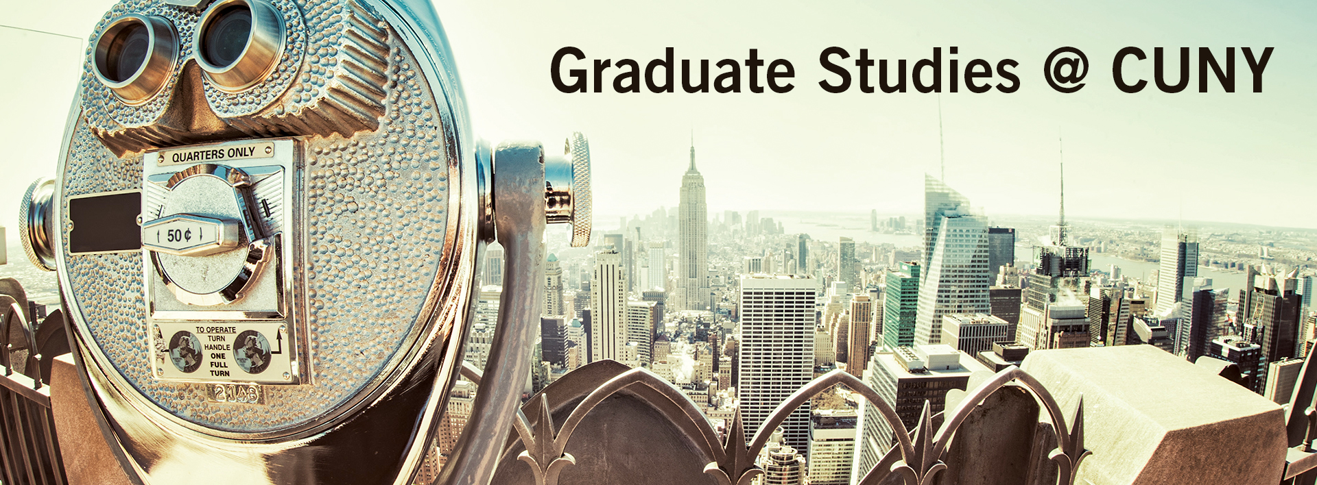 Graduate Studies at CUNY graphic