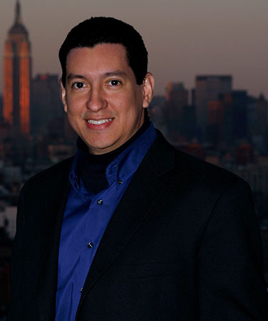 Emmy winner and Bronx Community College alumnus, Class of 1994, Walter Garaicoa