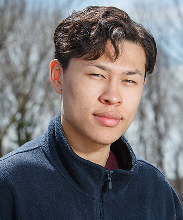 Kyle Chin-How, Queensborough Community College class of 2015, is a Jack Kent Cooke Foundation Undergraduate Transfer Scholarship awardee