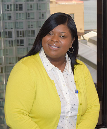 Office of Special Programs staffmember Starla Braswell