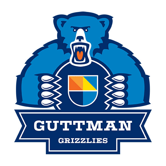Guttman Community College Grizzlies logo