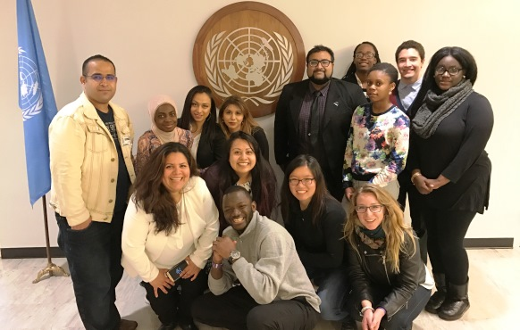 Malave Leadership Academy students visited the United Nations. April 21st, 2017