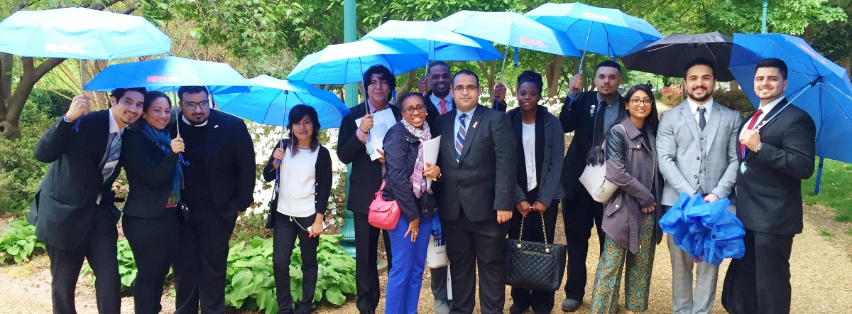Malave Leadership Academy students in Washington, DC