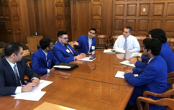 Malave Leadership Academy students in Albany