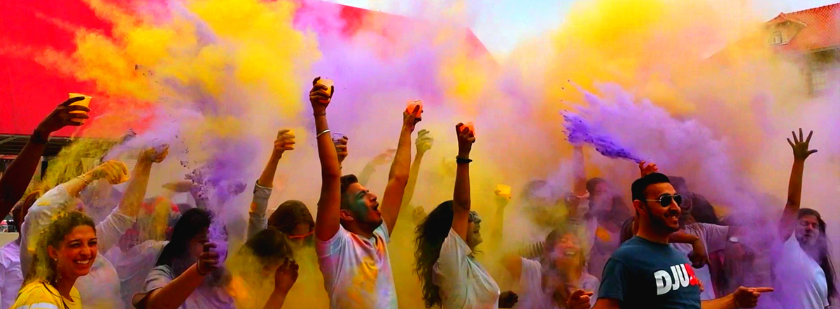 Holi Ka Rang, May 2015 Student Photo Challenge winner