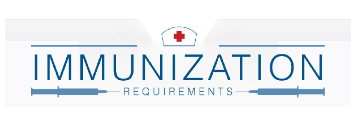 IMMUNIZATION REQUIREMENTS banner