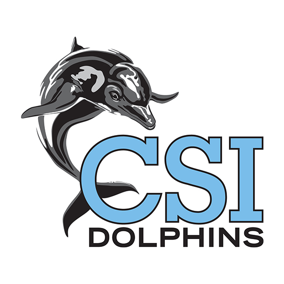 College of Staten Island Dolphins mascot logo