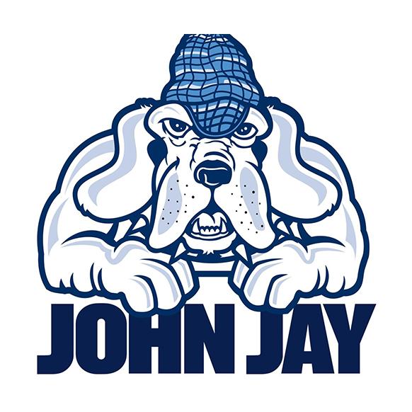 John Jay mascot graphic