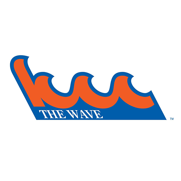 Kingsborough Community College The Wave mascot logo
