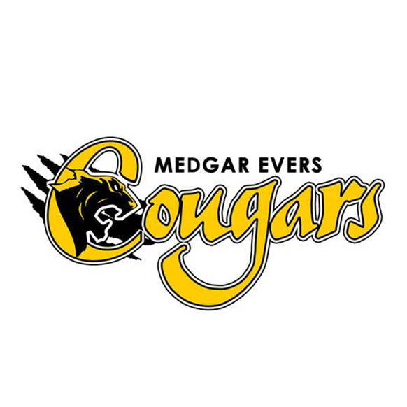 Medgar Evers College mascot logo