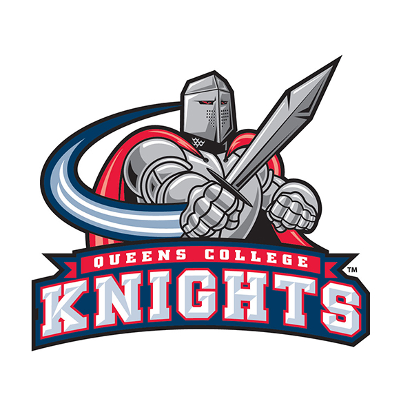 Queens College Knights mascot logo