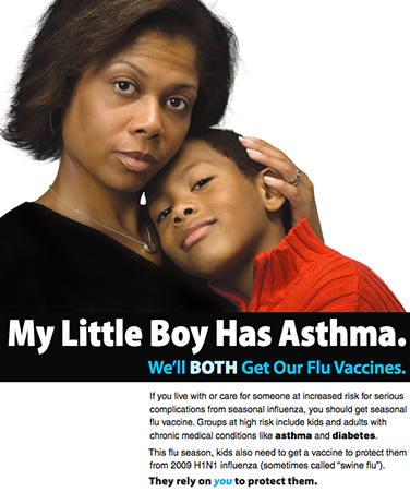 My Little Boy Has Asthma graphic