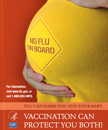 NO FLU ON BOARD VACCINATION CAN PROTECT YOU BOTH!