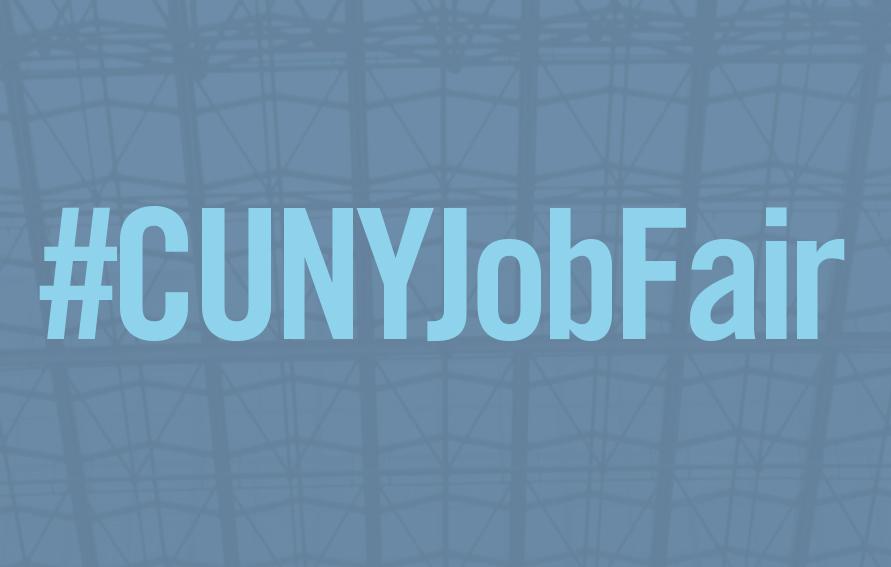 CUNY Job Fair banner