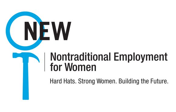 NEW Nontraditional Employment for Women logo