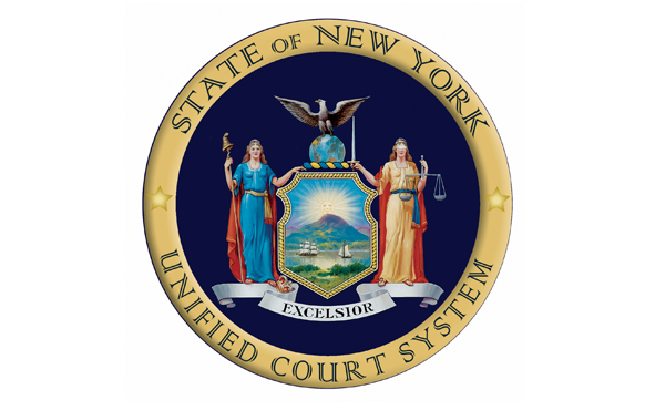 STATE OF NEW YORK UNIFIED COURT SYSTEM seal