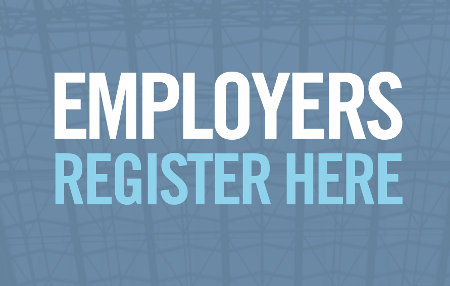 EMPLOYERS REGISTER HERE graphic