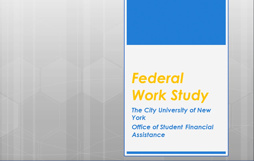 What is a Federal Work-Study job? | Federal Work-Study ...