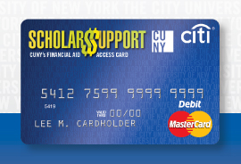 Scholars Support Card