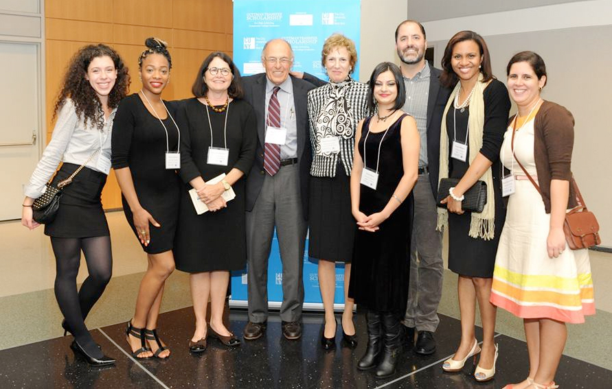 Awards ceremony and reception honors the seventy-five Fall 2014 Guttman Scholars