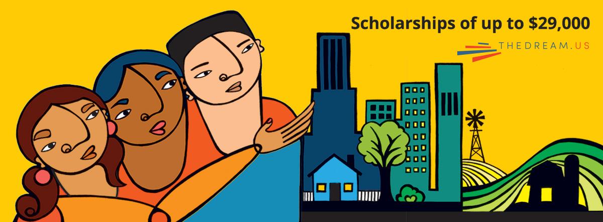 The Dream US Scholarship Program banner