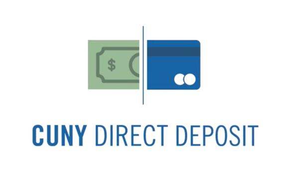CUNY Direct Deposit logo