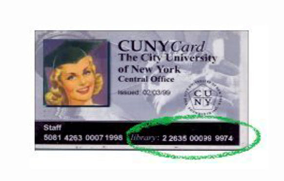 CUNY Card graphic