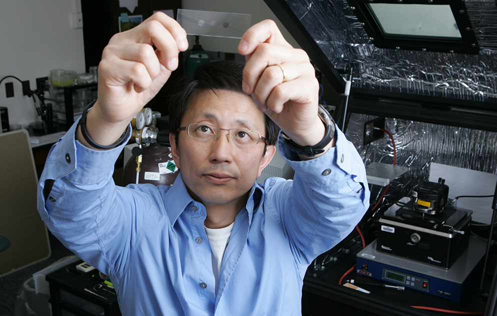 Hunter College Chemistry Professor Hiroshi Matsui