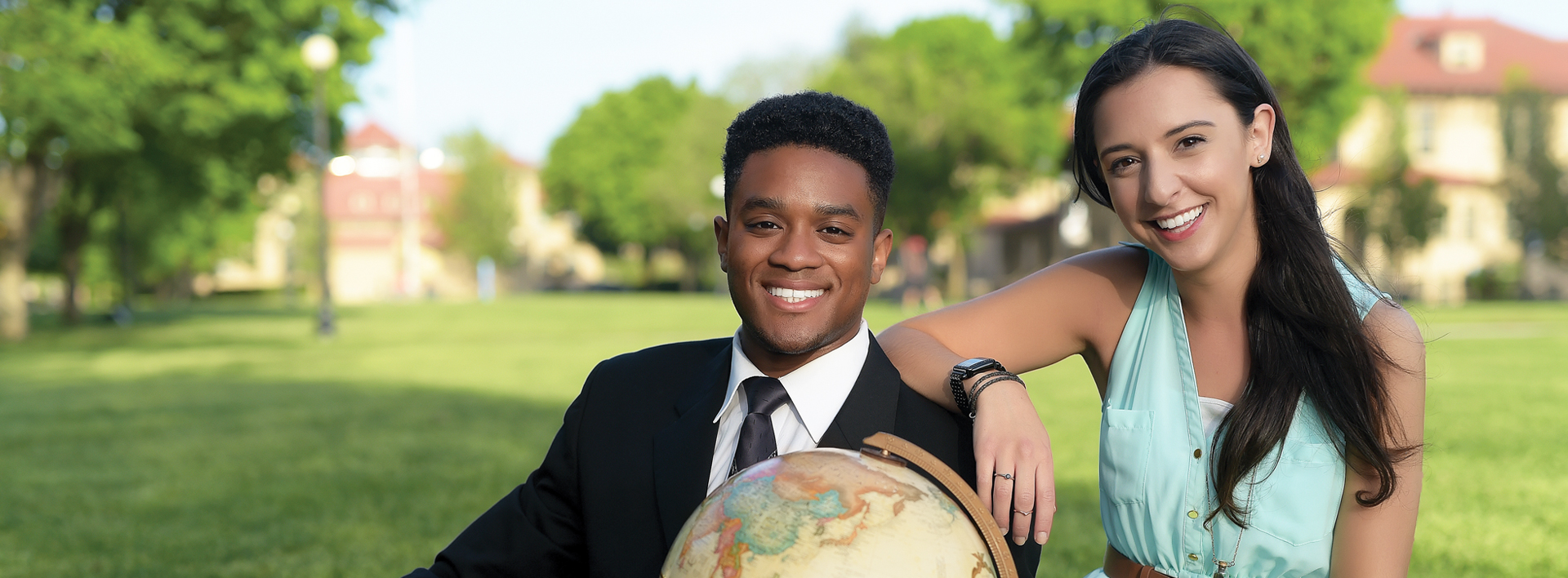 Carlsky Belizaire and Karissa Caputo, both Macaulay Honors College students at Queens College are Fulbright winners