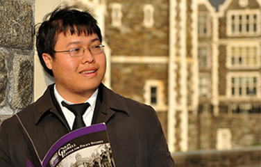 Anthony Pang, City College, is in a National Science Foundation Graduate Research Fellowship Program